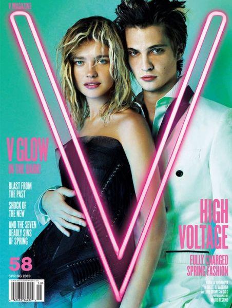 Наталья Водянова в журнале V Magazine. Апрель 2009