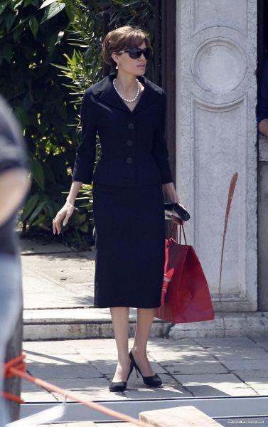 "Анджелина Джоли на съемках фильма ""Турист"". 3 мая"