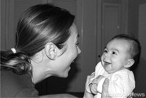 Стейси Киблер показала дочь