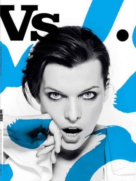 Милла Йовович в журнале VS. Весна 2009