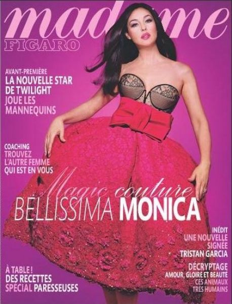 Моника Беллуччи для журнала Madame Figaro. Август 2009