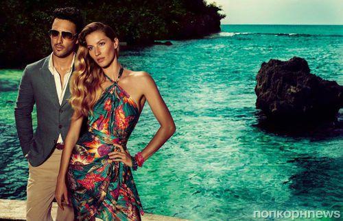 Рекламная кампания Salvatore Ferragamo с Жизель Бундхен Весна-Лето 2012