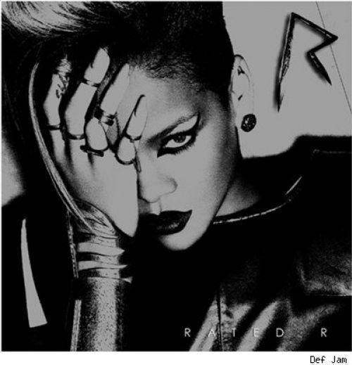 Обложка нового альбома Рианны Rated R