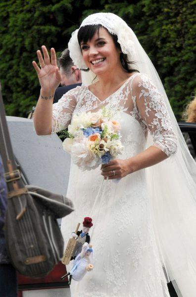 Лили Аллен планировала забеременеть до свадьбы