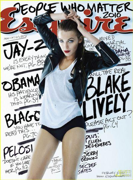 ����� ������ � ������� Esquire. ������� 2010