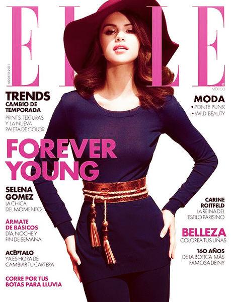 Селина Гомес в журнале Elle Мексика. Август 2011