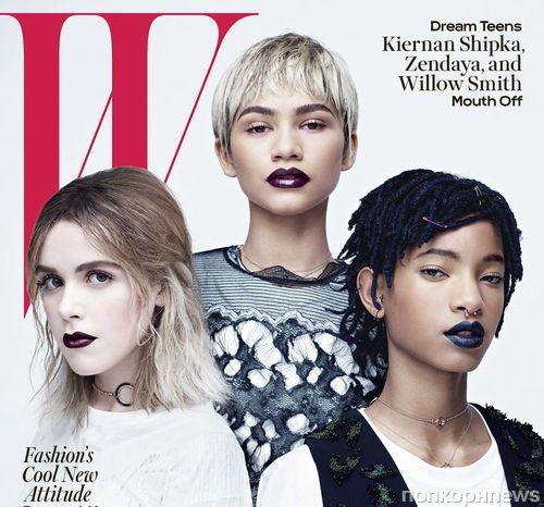 Звезды следующего поколения: Зендая и Уиллоу Смит для W Magazine