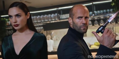 Джейсон Стэтхэм и Галь Гадот снялись в рекламе к Супербоулу-2017