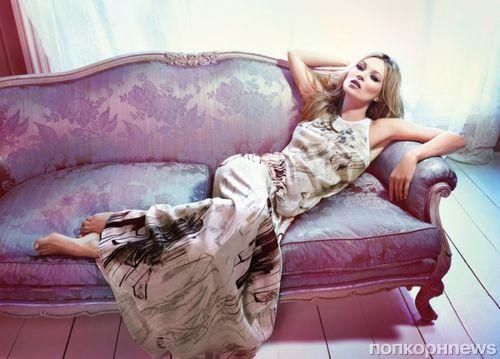 Кейт Мосс в новой рекламной кампании Liu Jo. Весна / лето 2012