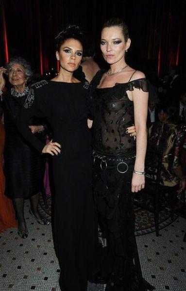 Звезды на British Fashion Awards
