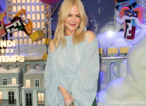 Николь Кидман дала старт рождественскому сезону в Париже