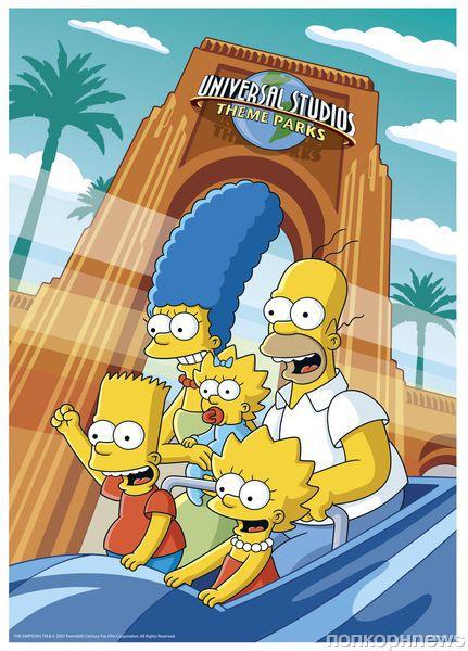 В Орландо появится дом Симпсонов