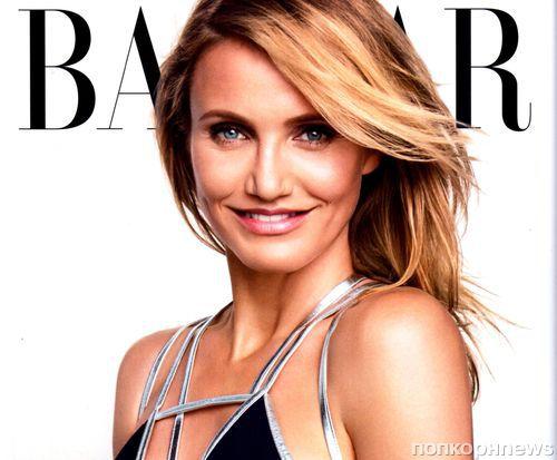 Updated: Камерон Диаз в журнале Harper's Bazaar. Август 2014