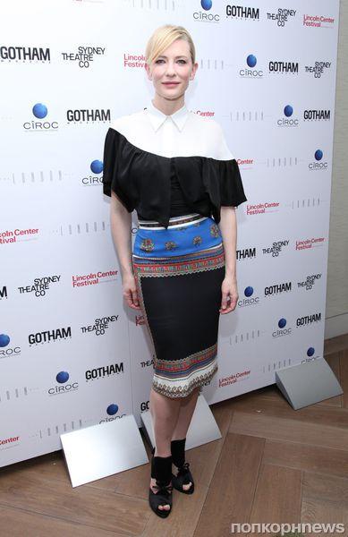 Кейт Бланшетт на вечеринке Gotham Magazine