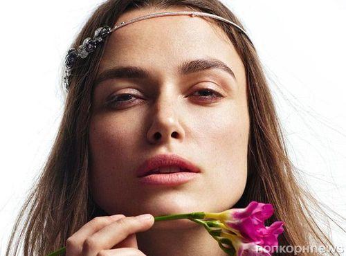 Кира Найтли снялась в новой фотосессии для Madame Figaro