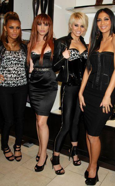 Презентация нижнего белья от Pussycat Dolls