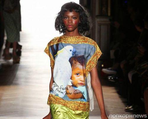 Модный показ новой коллекции Vivienne Westwood. Весна / лето 2015