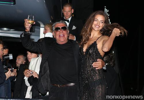 Звезды на вечеринке Роберто Кавалли в Каннах