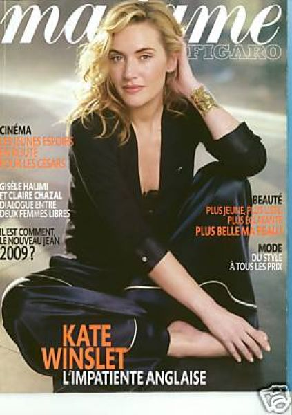Кейт Уинслет в журнале Madame Figaro. Февраль 2009