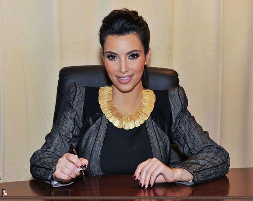 Ким Кардашиан стыдилась своей груди