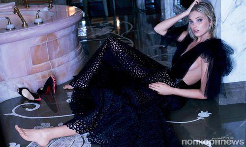 «Ангел» Victoria's Secret Эльза Хоск снялась в откровенной фотосессии для мужского глянца