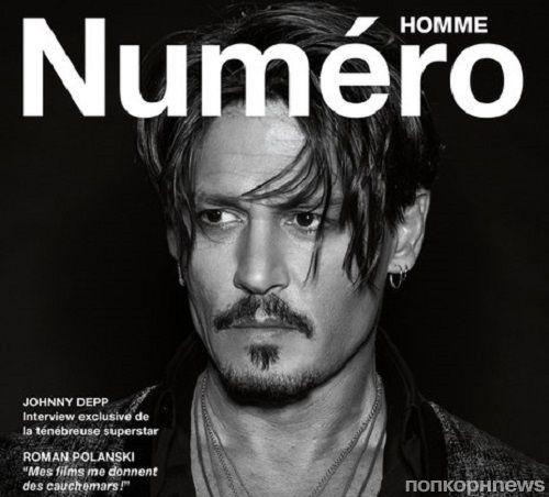 Джонни Депп в новой фотосессии для Numero Homme