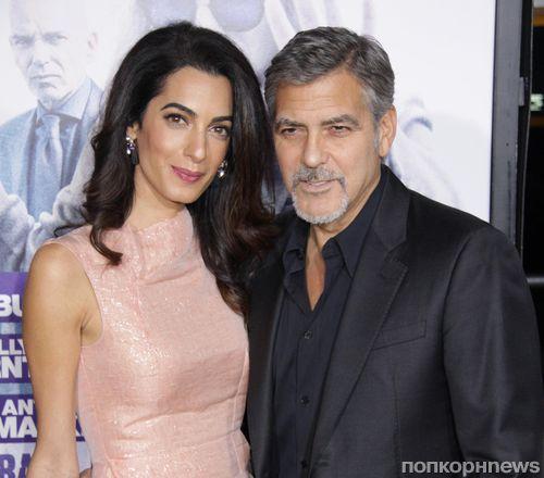 Амаль и Джордж Клуни готовятся к рождению ребенка?