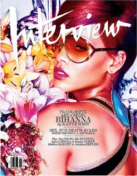 Рианна в журнале Interview. Декабрь 2010