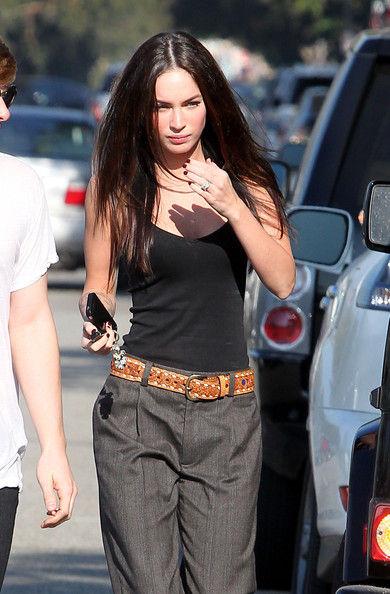 Меган Фокс носит одежду мужа?