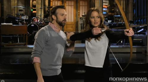 Дженнифер Лоуренс  в промо-ролике SNL