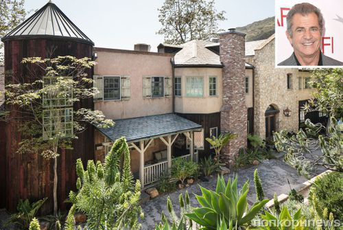Мел Гибсон выставил на продажу «замок» в Малибу