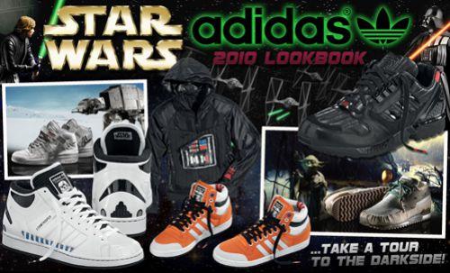 ����� ������� Adidas Star Wars  � ������� �������� � ���� �����