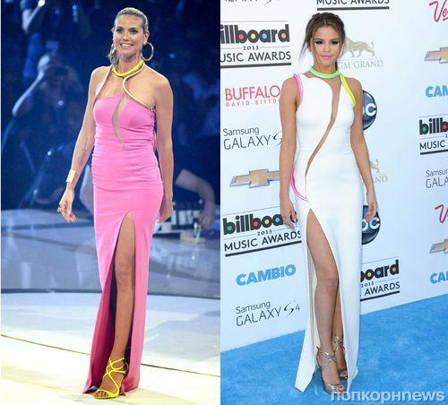 Fashion Battle: Хайди Клум и Селена Гомес