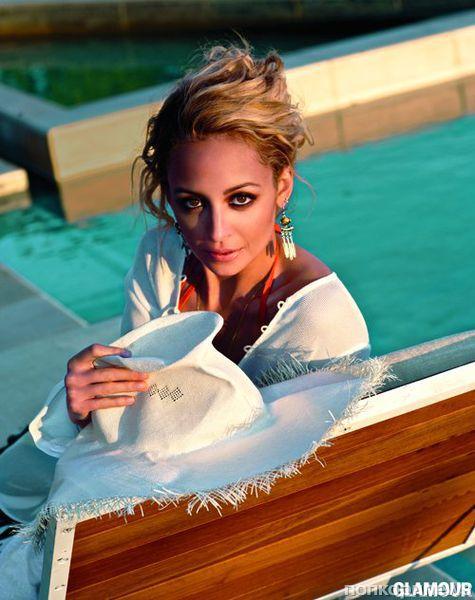 Николь Ричи в журнале Glamour. Июнь 2012
