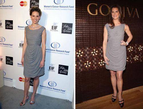 Fashion battle: Хилари Суонк и Брук Шилдс