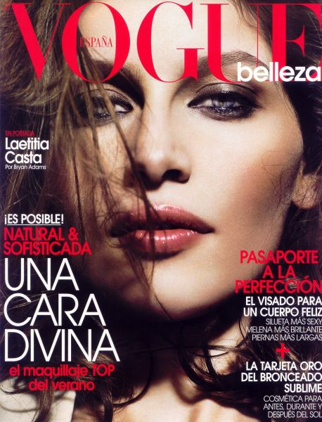Летиция Каста в журнале Vogue Испания. Июль 2009