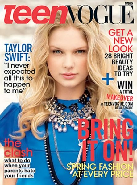 Тейлор Свифт в журнале Teen Vogue. Март 2009