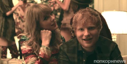 Тейлор Свифт выпустила музыкальное видео на песню End Game с Эдом Шираном