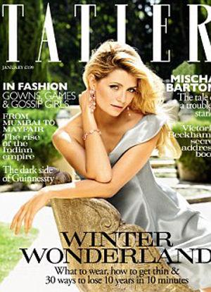 Миша Бартон в журнале TATLER. Январь 2011