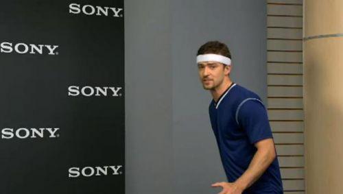 Джастин Тимберлейк в рекламе Sony Bravia