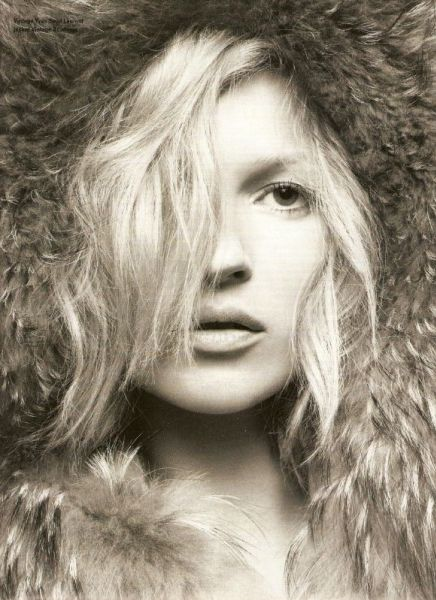 Кейт Мосс в журнале I-D и Vogue Australia. Март 2009