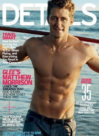 """Звезда сериала """"Хор / Glee"""" Мэттью Моррисон в журнале Details"""