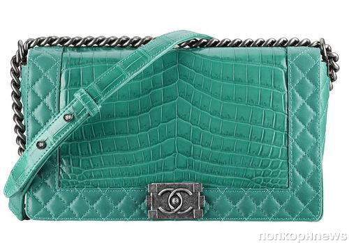 Новая коллекция сумок Chanel Boy. Осень / зима 2013-2014