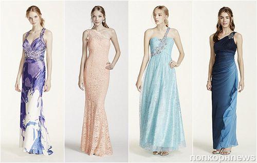 Модные вечерние платья на выпускной 2015: фото