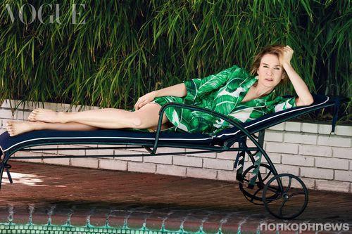 Рене Зеллвегер в журнале Vogue Великобритания, июль 2016