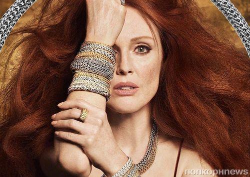 Джулианна Мур снялась в рекламе ювелирного бренда John Hardy
