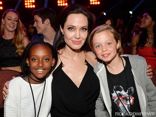 Дети Анджелины Джоли и Брэда Питта поучаствовали в озвучке «Кунг-фу Панды 3»