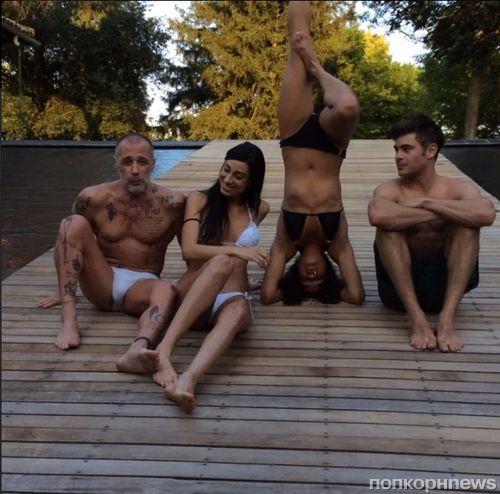 Видео: Зак Эфрон танцует, а Мишель Родригес стоит на голове