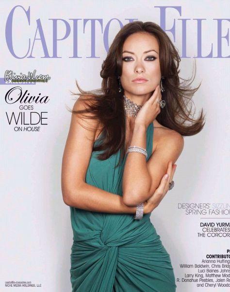 Оливия Уайльд в журнале Capitol Files. Март 2009