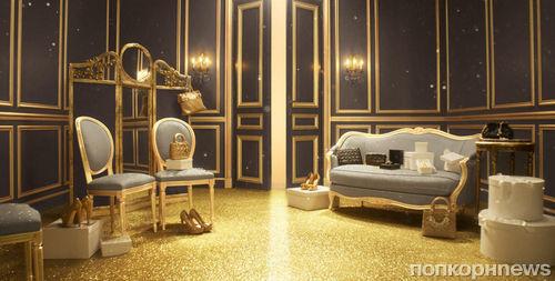 Видео: Золотое Рождество от Dior